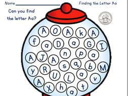 Find the Letter Activity
