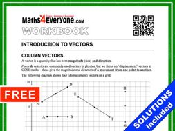Vectors (Workbook with Solutions)