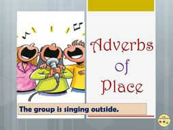 Adverbs of Place Worksheets, Display Posters Flashcards Vocabulary