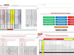 New GCSE Tracker  1-9 for all subjects - interventions, predictions and QA analysis