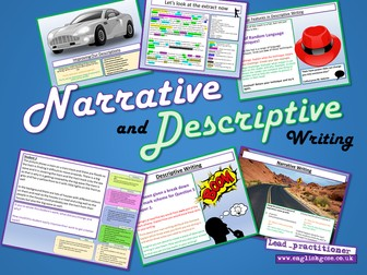 Narrative and Descriptive Writing