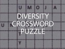 Diversity Crossword Puzzle (US)