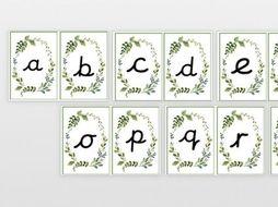 a-z phonics flash cards EYFS