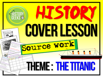 History Home Learning  - Titanic