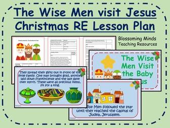 Worksheet. KS2 Christmas RE Lesson  The Wise Men visit Jesus by