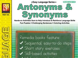 Antonyms & Synonyms: Easy Language Series