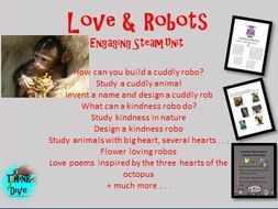 Love and Robots - STEAM - Biomimicry for Young Children -
