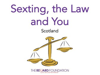 Sexting, the Law & You, Scotland
