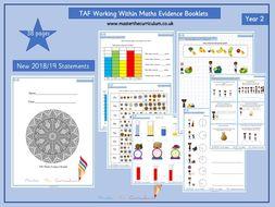 Year 2- Working Within TAF Evidence Booklet (Teacher Assessment Framework)