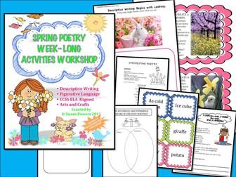 Spring Poetry Figurative Language Writing Workshop