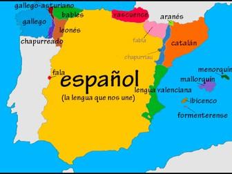 Spanish AS Level 5.3A Las lenguas (languages)