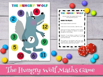 The Three Little Pigs Maths Game, The Hungry Wolf.