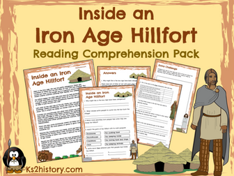Iron Age Hillfort Reading Comprehension