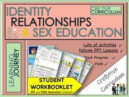 Friendship Relationship RSE  WorkBook - PSHE