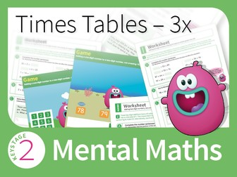 Times Tables Mastery - 3 Times Table