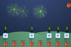 Firework Patterns - Interactive Activity - Bonfire Night KS1