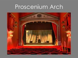 Proscenium Arch Theatre Configuration
