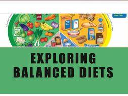 Exploring balanced diets