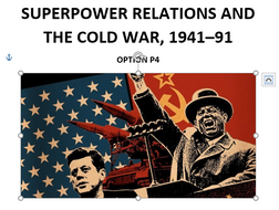 Edexcel Cold War Revision Guide, GCSE 9-1