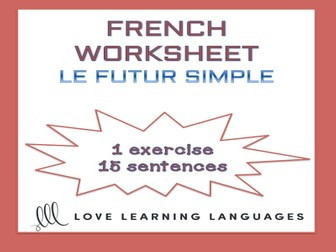 Multiplication Pyramid Worksheet Word Search Tes Resources Capitalization Worksheets For 2nd Grade Excel with Division Worksheets 2nd Grade Pdf Gcse French Le Futur Simple  French Simple Future Worksheet Non Standard Measurement Worksheet