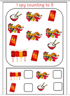 Chinese New Year Counting to 5 and 10 | Teaching Resources