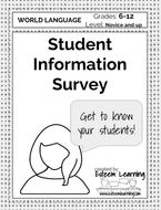 Student Information Survey