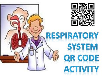 Body Systems: Respiratory System QR code Activity