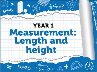 Year 1 – Spring – Week 9 – Measurement: Length and Height