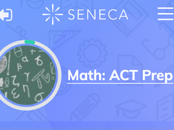 ACT Math Study  Prep - Algebra, Geometry
