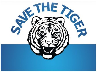 SAVE THE TIGER PPT TEMPLATE