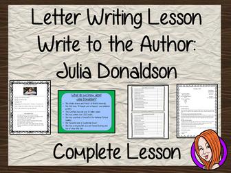 Letter Writing Complete Lesson – Julia Donaldson