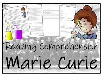UKS2 Literacy - Marie Curie Reading Comprehension