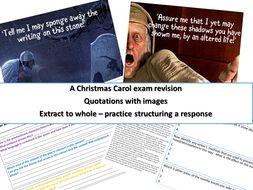 A Christmas Carol Revision GCSE 9-1 | Teaching Resources