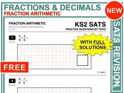 KS2 Maths (Fraction Arithmetic)