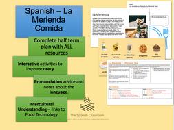 La Merienda Comida 'En el café' Spanish
