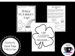 St. Patrick's Day Literacy Packet and Activities