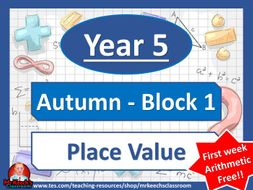 Year 5 - Place Value - Autumn Block 1 - White Rose Maths