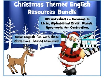 Christmas English Bundle