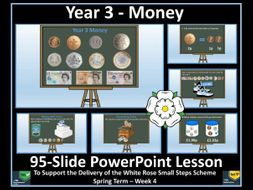 Money Year 3 - PowerPoint Lesson - White Rose Maths
