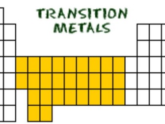 OCR A A2 Transition metals Powerpoints