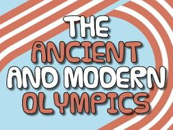 Ancient & Modern Olympics Bundle