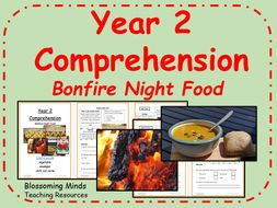 Year 2 Comprehension - Bonfire Night Food