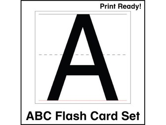 ESL Flash Cards - ABCs