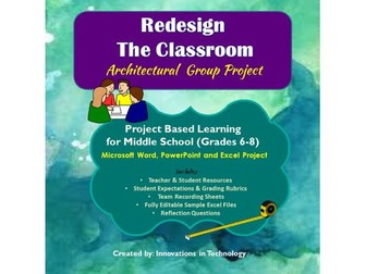 Re-Design the Classroom Group Project using MS Word, PowerPoint & Excel