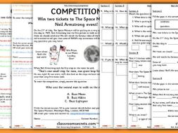 Year 2 Neil Armstrong Comprehension