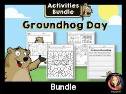 Groundhog Day Activities Bundle