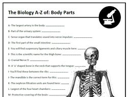 The A-Z of Biology - Quizzes 1-5 to use in the classroom