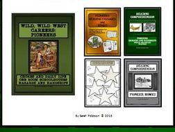 BUNDLE: DAVY CROCKETT AND FRONTIERSMEN - Lesson, Reading Comprehension and Bingo