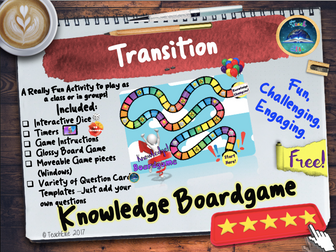 Back to School boardgame