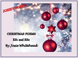 The Bear That Nobody Wanted and other Christmas Poems  By Josie Whitehead